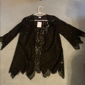 Francesca black cover up new with tags